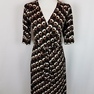BANANA REPUBLIC Wrap Dress Size XS 3/4 Sleeve